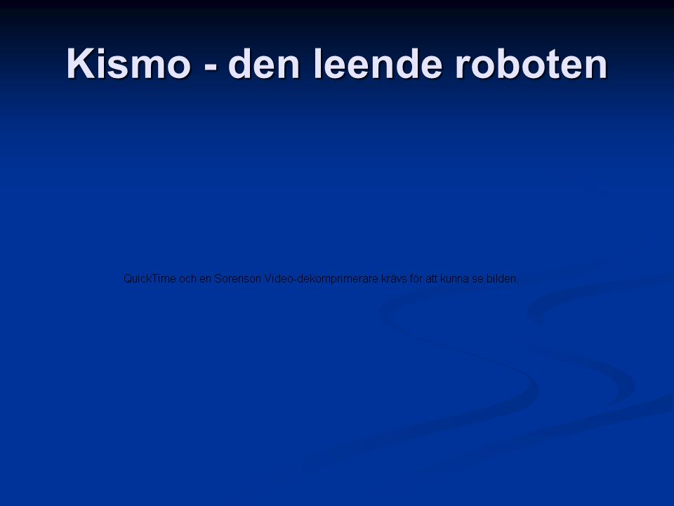 Robocup - robotfotboll
