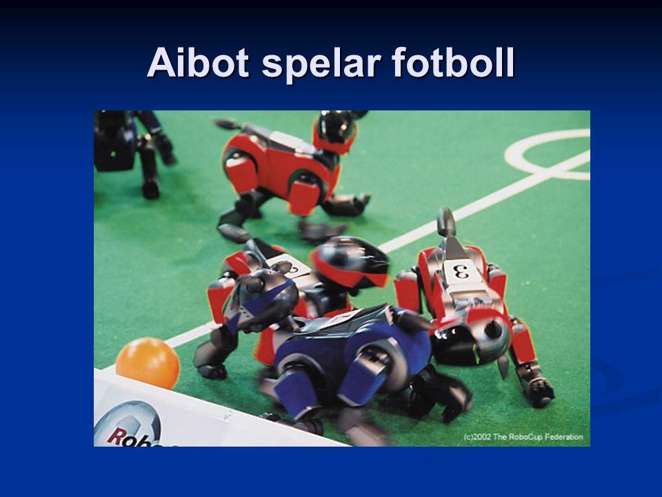 Aibot spelar fotboll