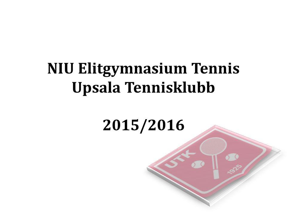 NIU Elitgymnasium Tennis Upsala Tennisklubb 2015/2016