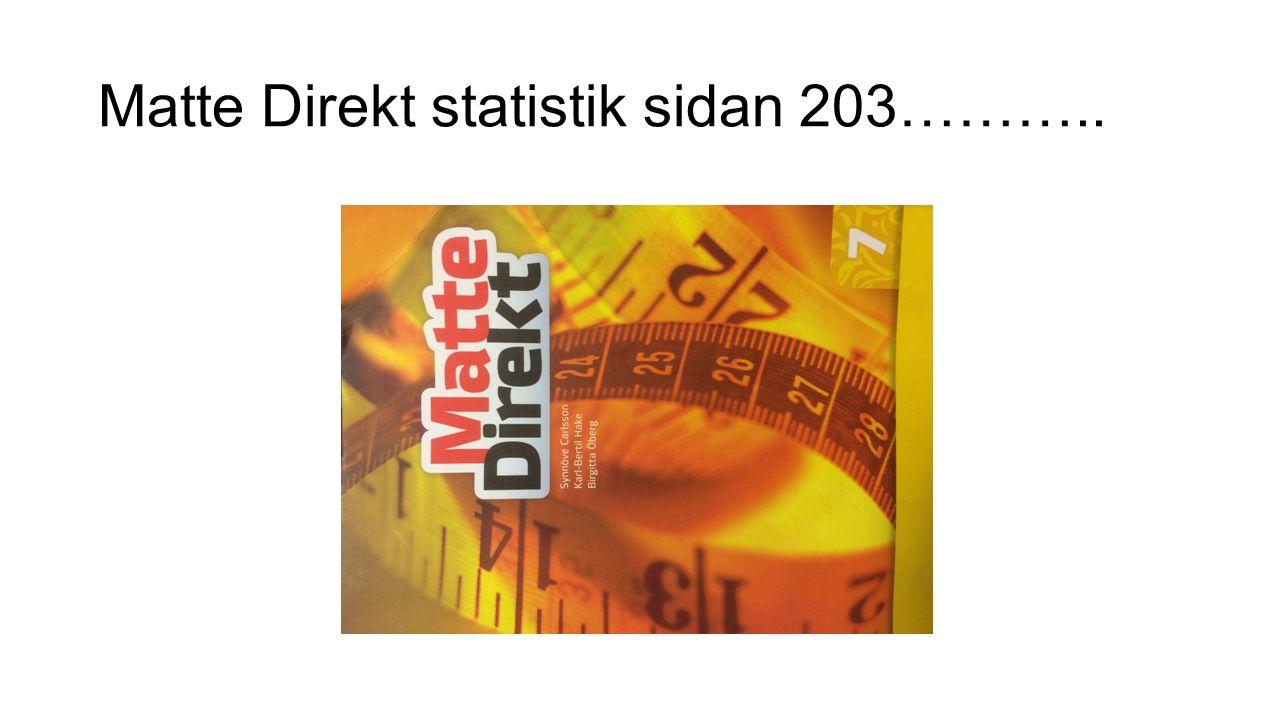 Matte Direkt statistik sidan 203………..