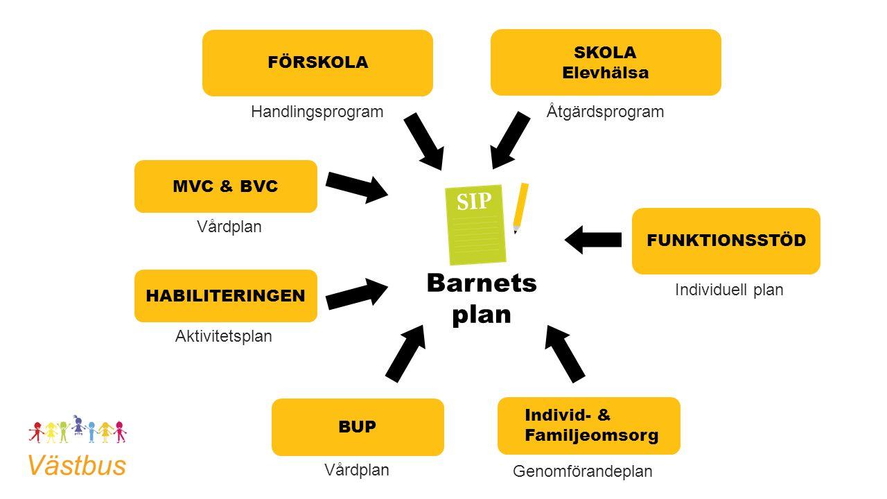Samordnad individuell plan, SIP Sedan den 1 januari 2010 finns en lagstadgad skyldighet i både HSL och SoL som innebär att kommun och landsting tillsammans ska upprätta en samordnad individuell plan (SIP) när den enskilde har behov av insatser från båda huvudmännen.