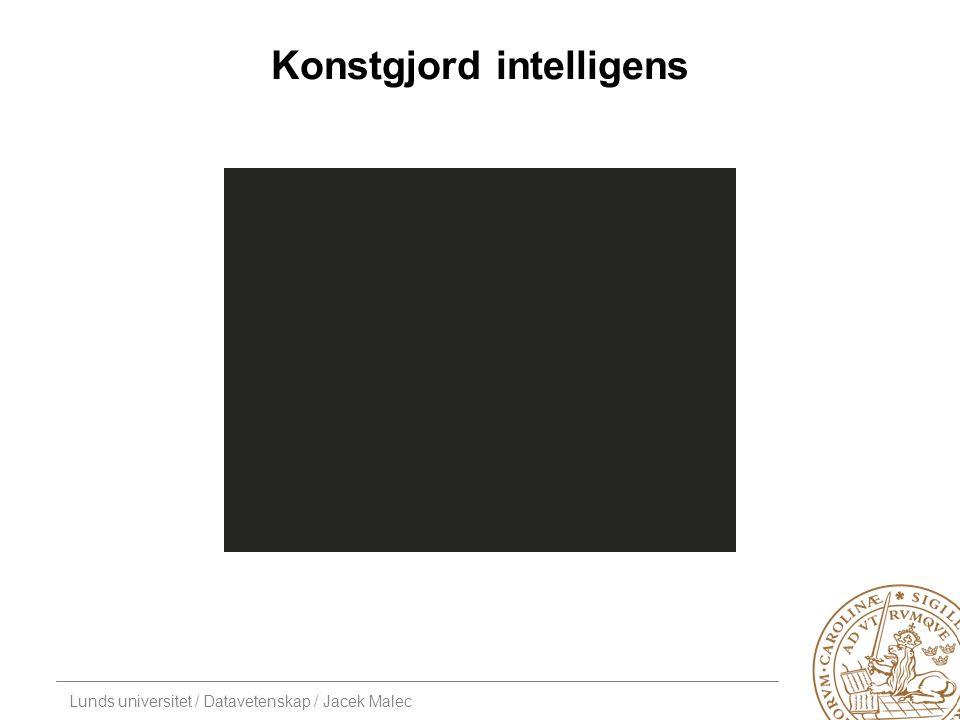 Lunds universitet / Datavetenskap / Jacek Malec Kaos och intelligens Myrstackar är smått kaotiska Kräver intelligens kaos.