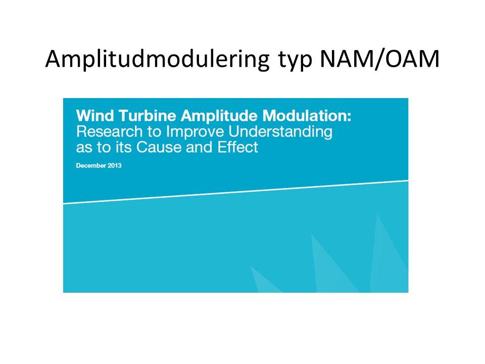 Amplitudmodulering typ NAM/OAM