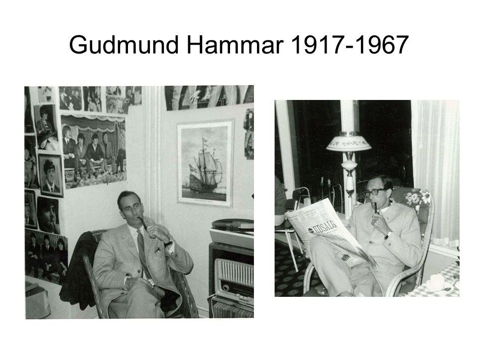 Gudmund Hammar 1917-1967