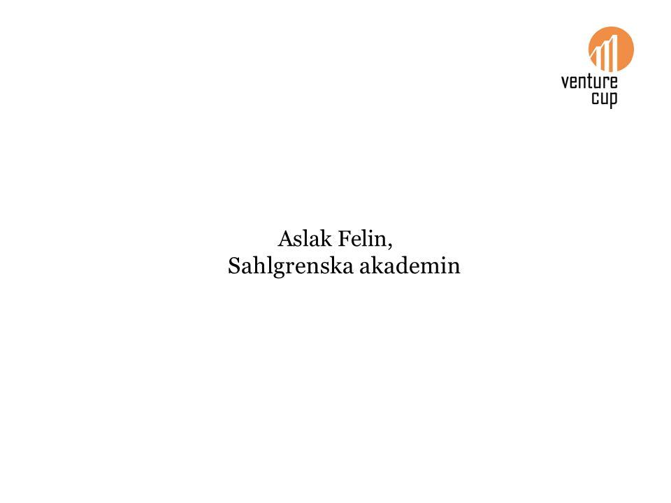 Aslak Felin, Sahlgrenska akademin