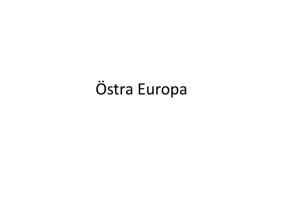 Länder och huvudstäder Ryssland – Moskva Ukraina – Kiev Vitryssland – Minsk Bulgarien – Sofia Rumänien – Bukarest Moldavien – Chisinau Georgien – Tbilisi Azerbajdzjan – Baku Armenien - Jerevan
