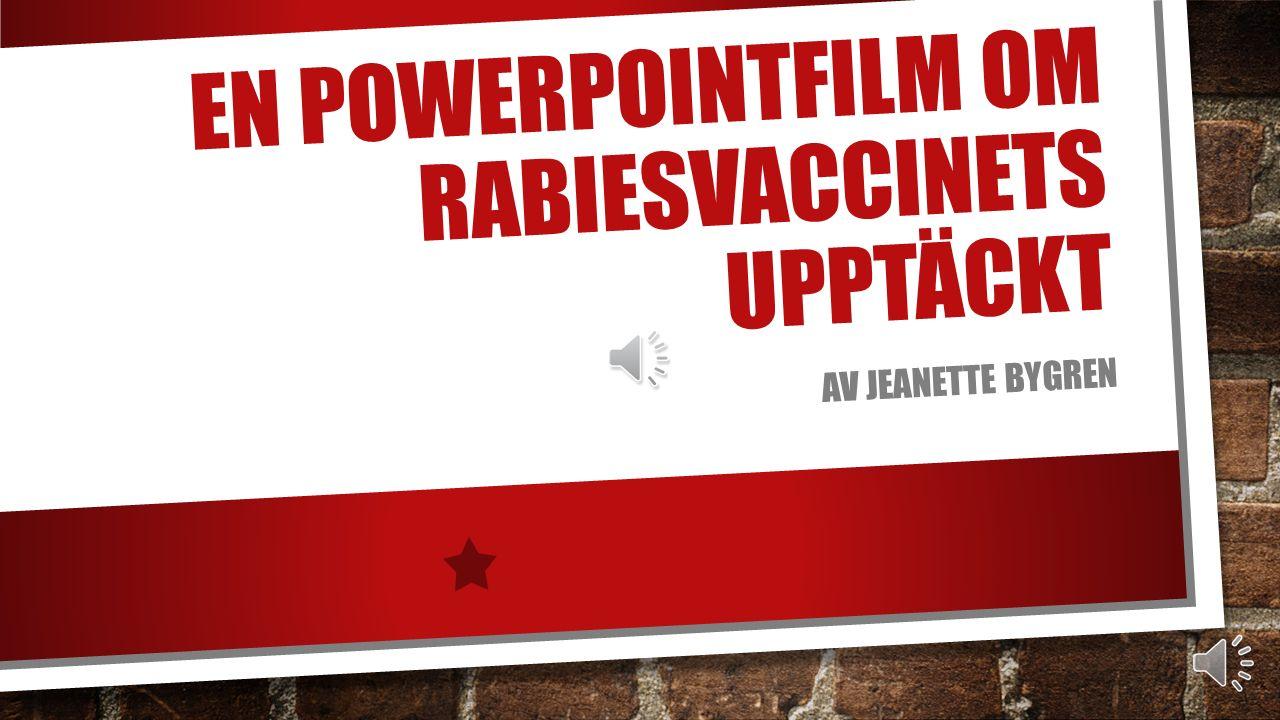 För att testa användningen av det torkade materialet som ett vaccin, förde man dagligen in doser i ryggmärgen på hundar.