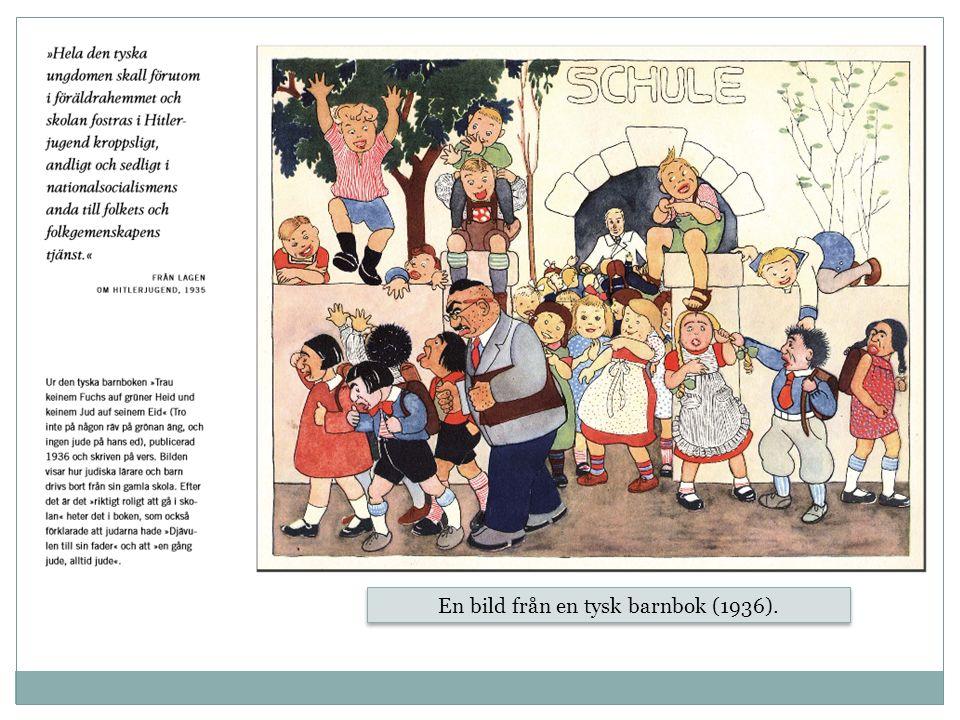 En bild från en tysk barnbok (1936).