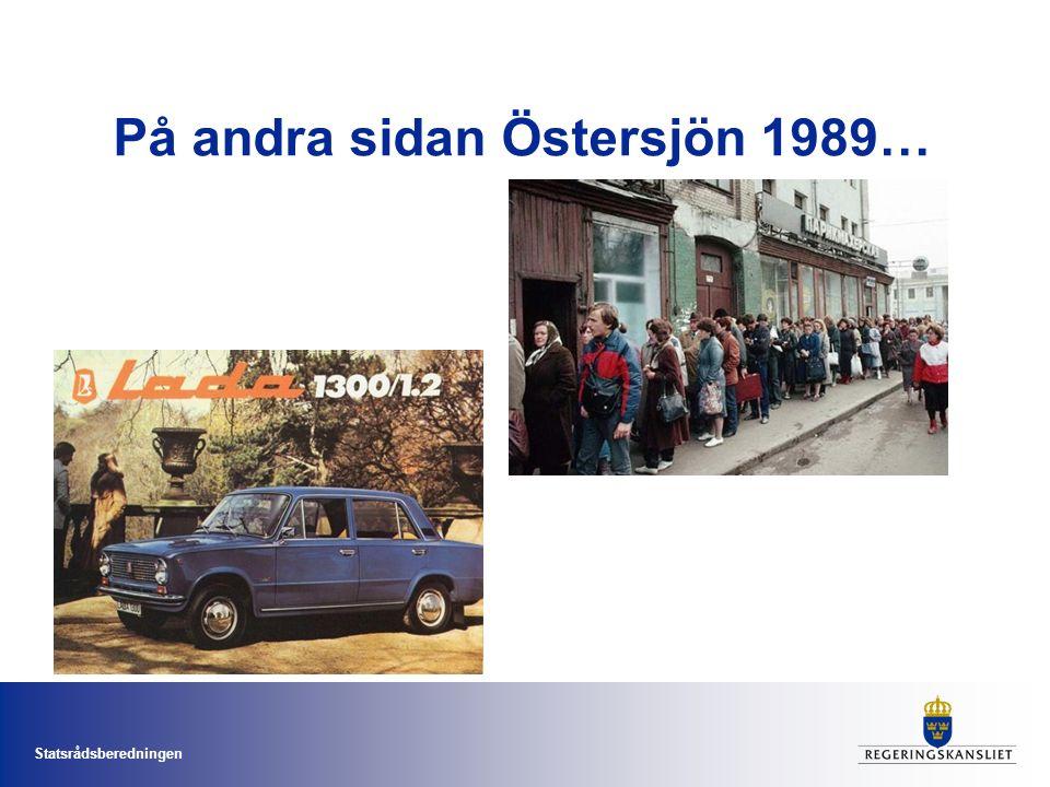 Statsrådsberedningen På andra sidan Östersjön 1989…