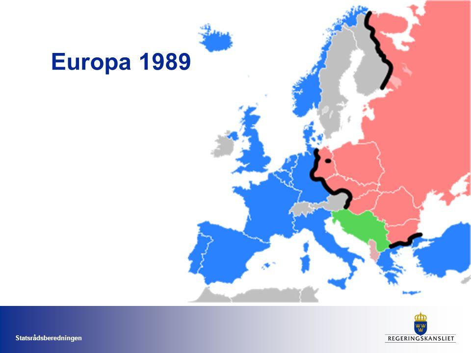 Statsrådsberedningen Europa 1989