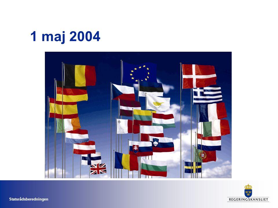 Statsrådsberedningen 1 maj 2004