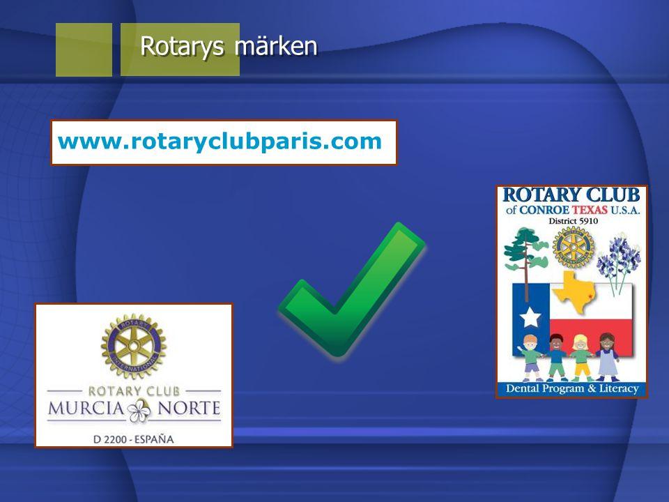 Rotarys märken www.rotaryclubparis.com