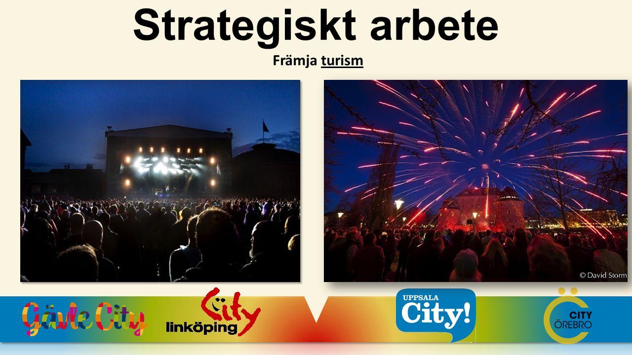Främja turism Strategiskt arbete