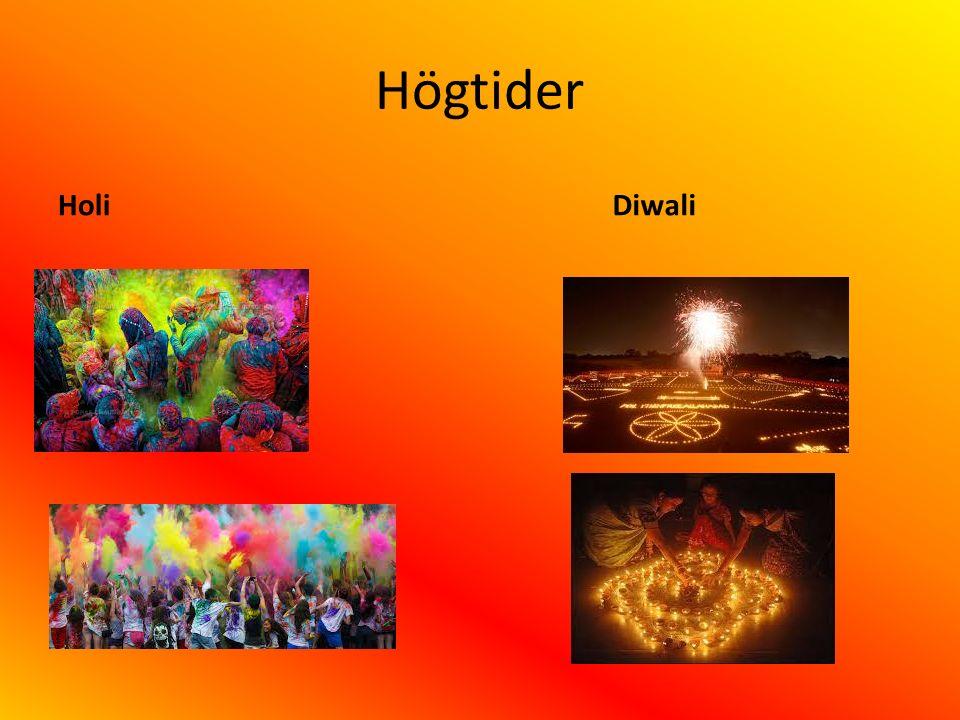 Högtider Holi Diwali
