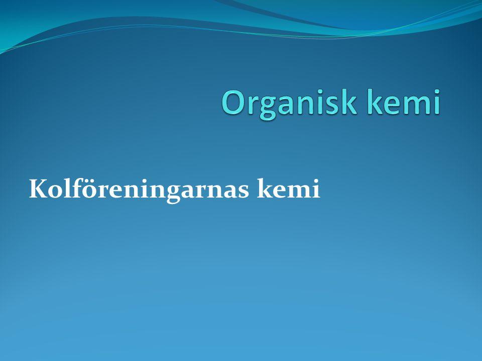 Trevärda alkoholer Ex glycerol C 3 H 5 (OH) 3 Används i hudkräm Inte giftig Används i nitroglycerin