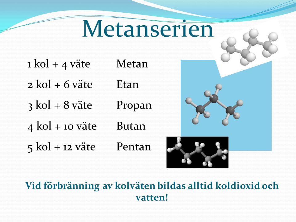 Lista över kolväten Meta Eta2 Propa3 Buta 4 Penta 5 Hexa6 Hepta7 Okta8 Nona 9 Deka 10 Hepta deka?