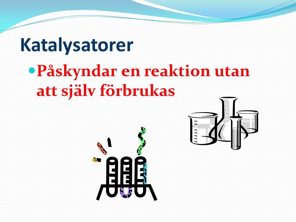 Estrar Luktar oftast gott Alkohol + syra → ester + vatten En speciell grupp av estrar är fetterna