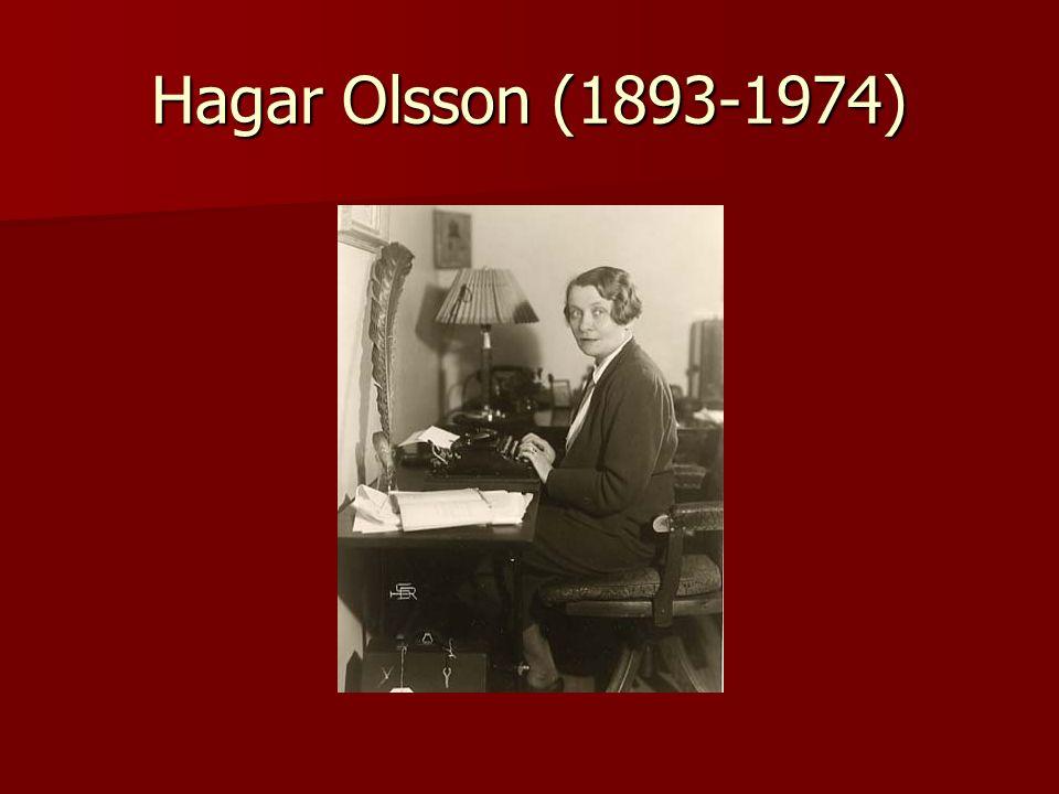 Hagar Olsson (1893-1974)
