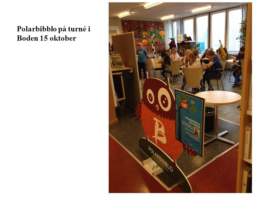 Polarbibblo på turné i Boden 15 oktober