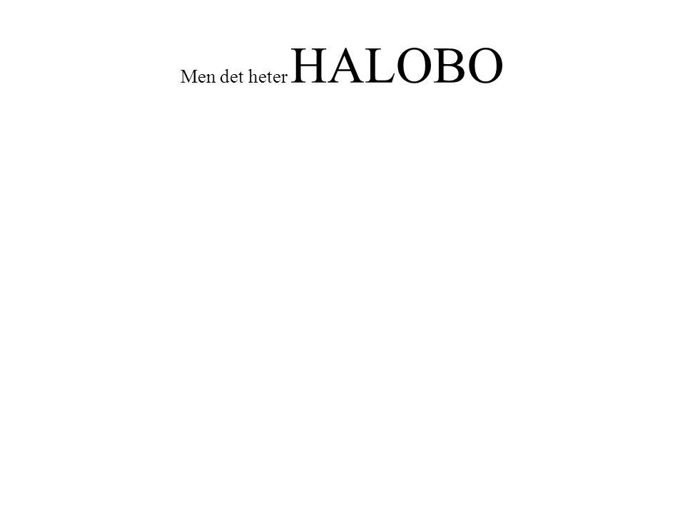 Men det heter HALOBO