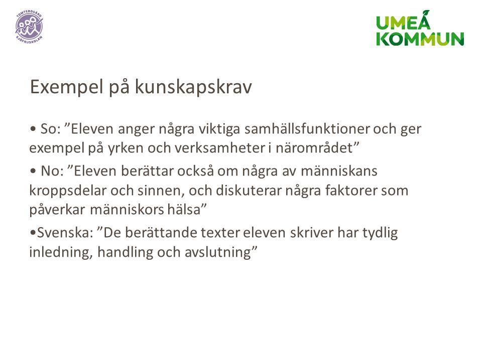 Rätt stöd i rätt tid Från hösten 2014 har Umeå kommun en åtgärdstrappa som handlar om att ge rätt stöd i rätt tid.