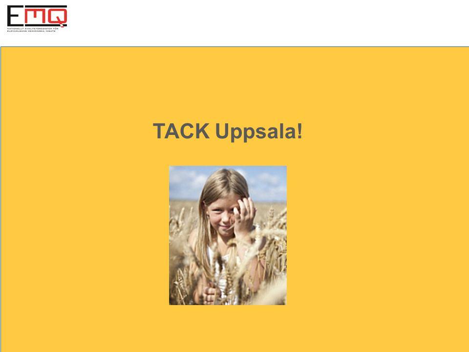 TACK Uppsala!
