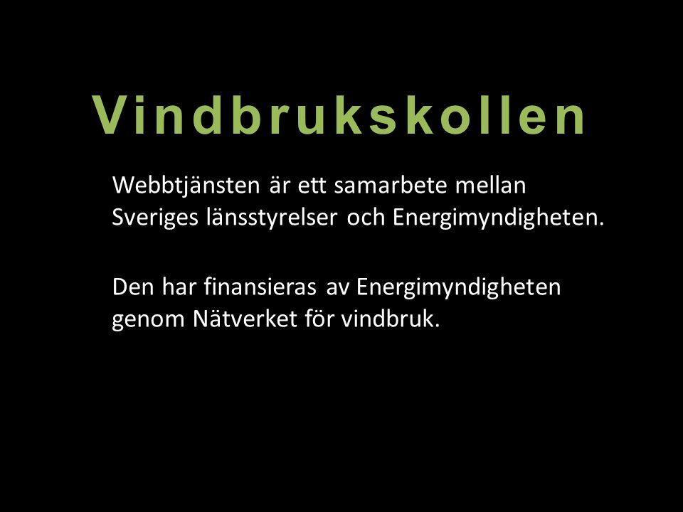 Tack för er uppmärksamhet! www.vindbrukskollen.se
