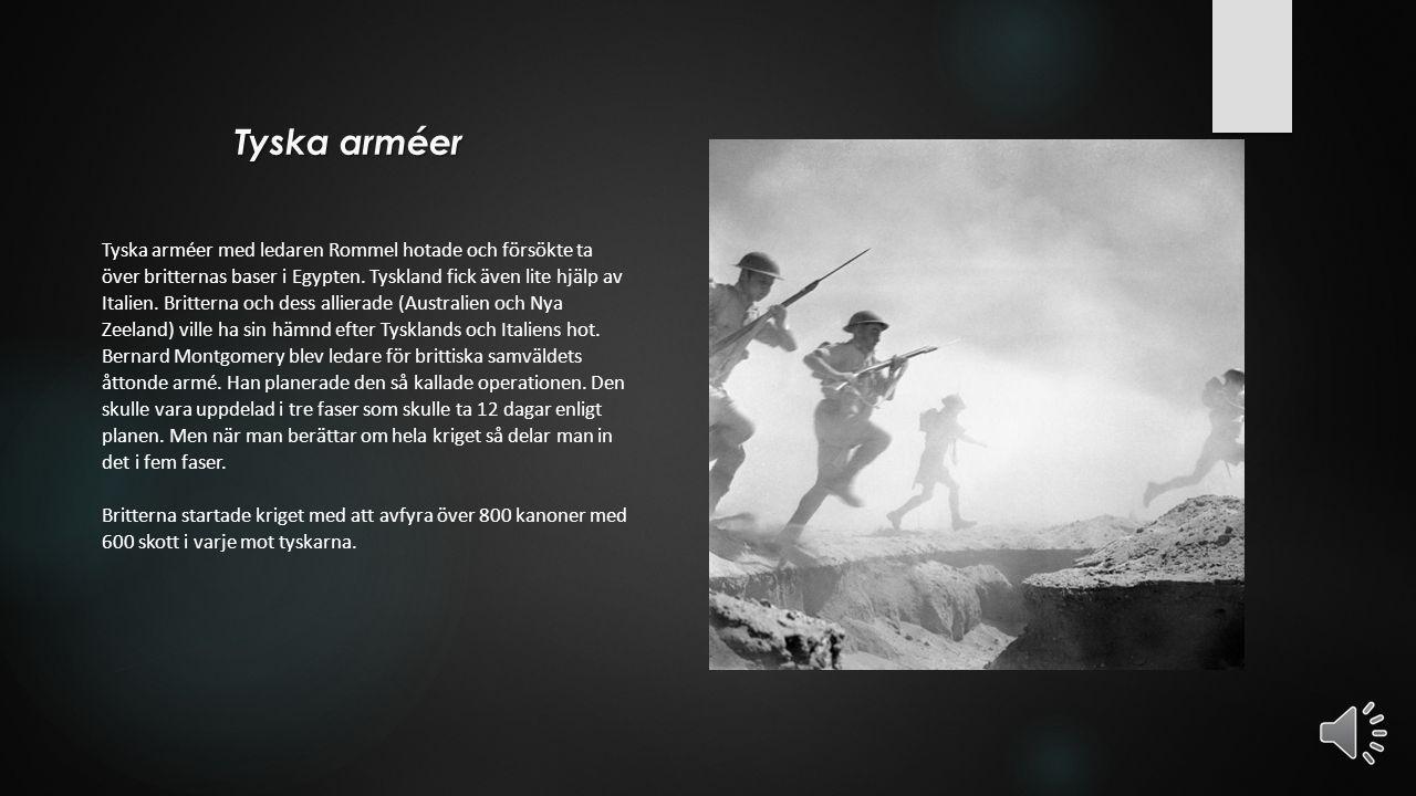 Bernard Montgomery Bernard Montgomery var befälhavare för Storbritannien och det är en som är ledare över armén. Bernard Montgomerys armé anföll Adolf