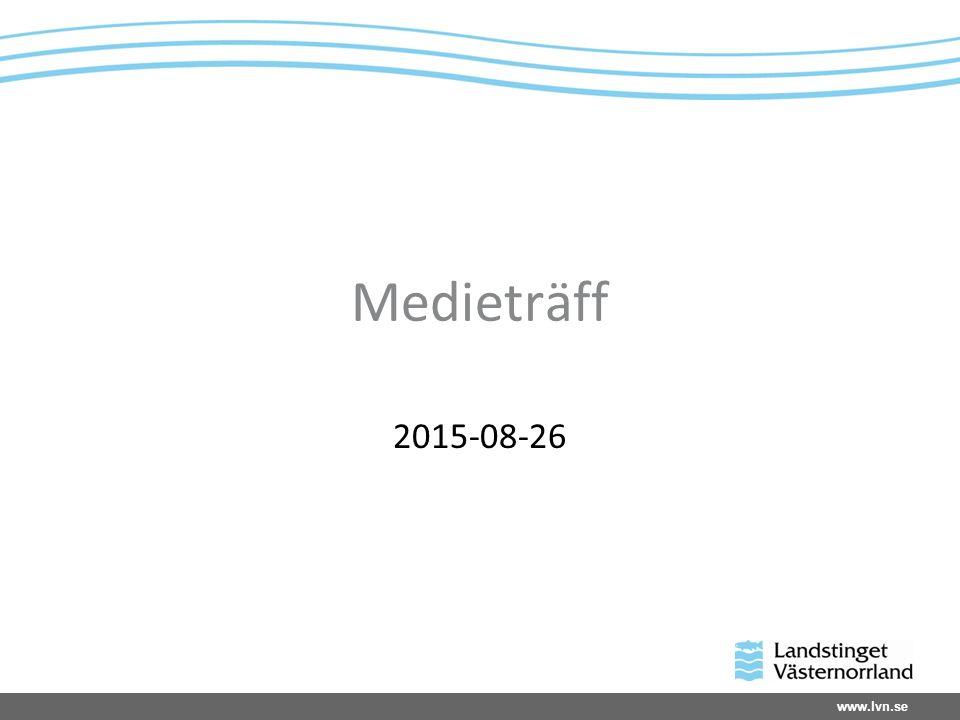 www.lvn.se Landstingsstyrelsens beslut april 2015 Specialistvården ska samordnas och effektiviseras Kostnaderna ska sänkas med 160 mnkr
