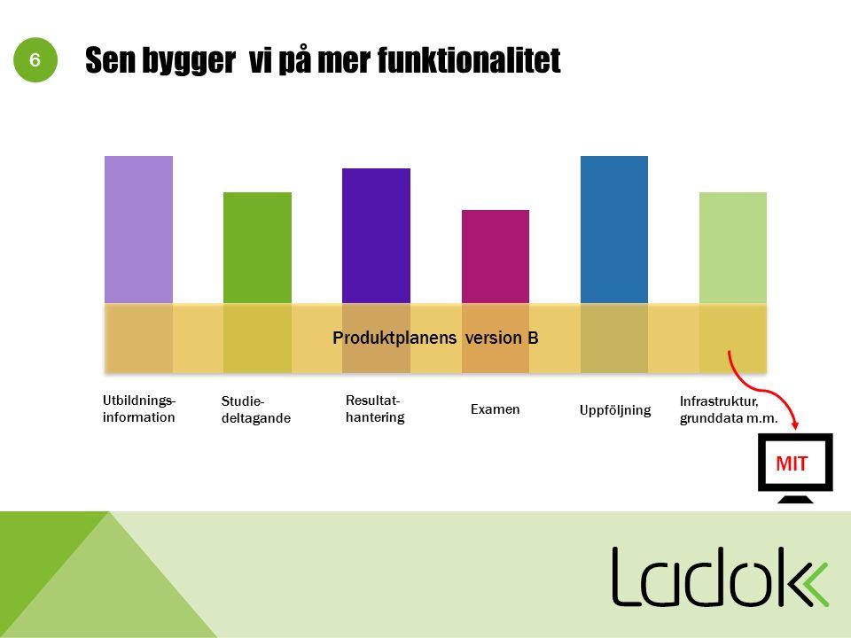 17 Version H Hantera utbildningssamarbeten Gemensam examen.