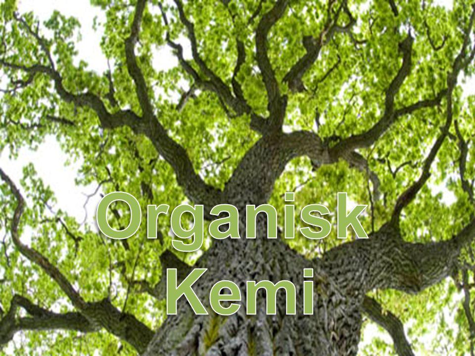 Kol ingår i alla organiska föreningar.