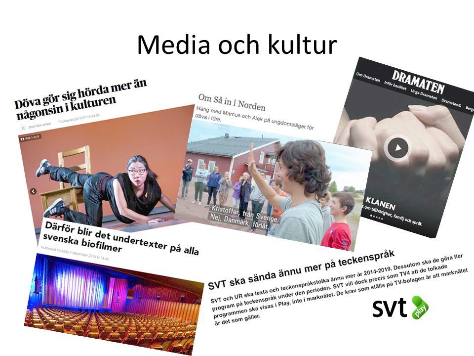 Media och kultur