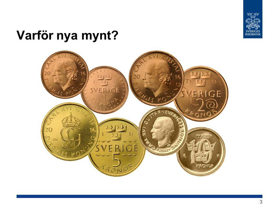 Varför nya mynt 3