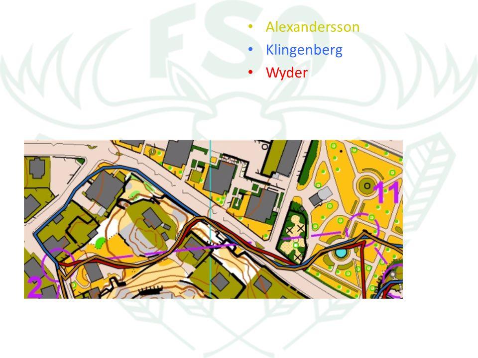 Alexandersson Klingenberg Wyder