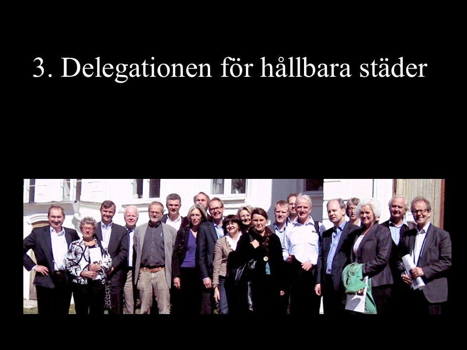 3. Delegationen för hållbara städer