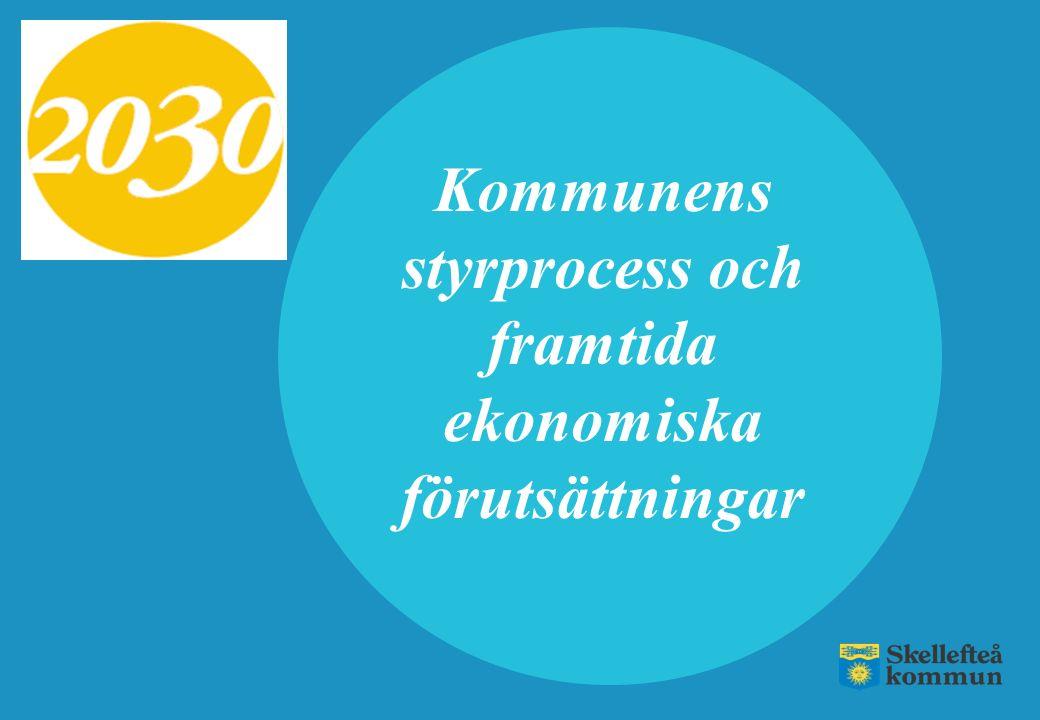 Skellefteå kommun har högre kostnader jämfört med genomsnittskommunen Verksamhetens nettokostnader Kr/inv Skellefteå54 723 Alla kommuner i Sverige48 646 Liknande kommuner47 294 Motsvarar cirka 470 mnkr i högre kostnader