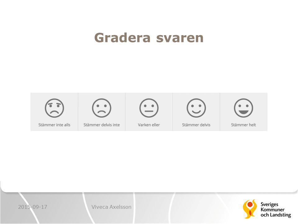 Gradera svaren 2015-09-17Viveca Axelsson