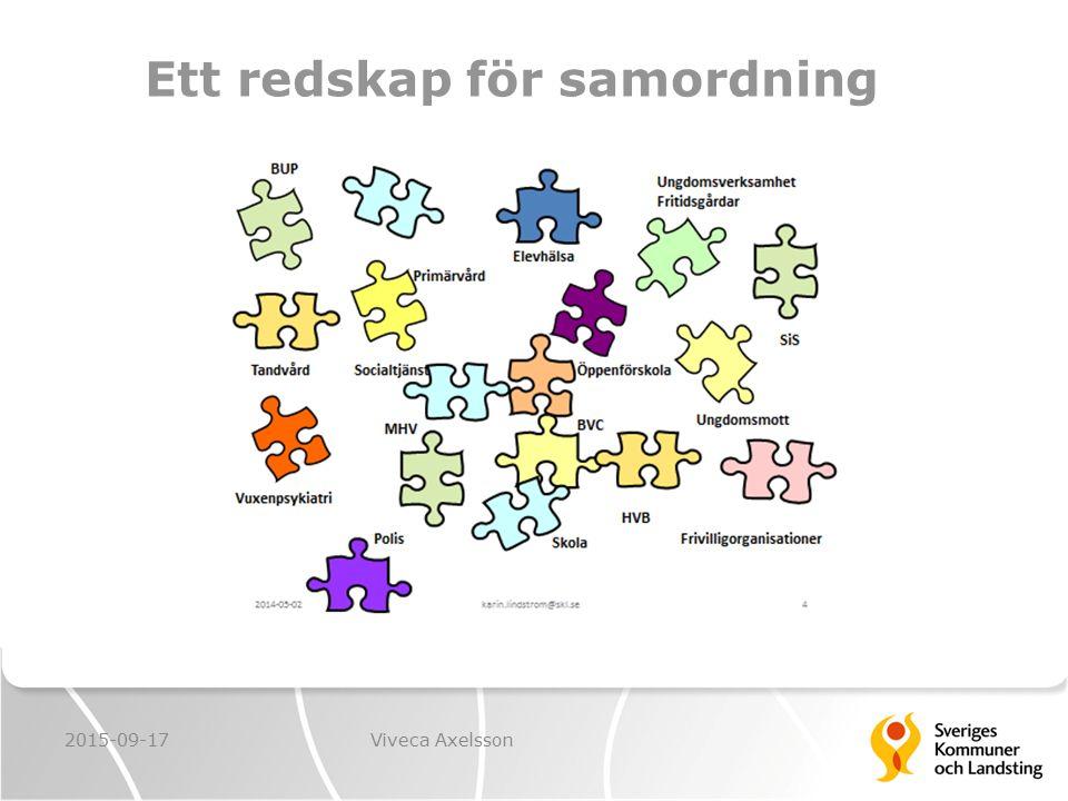 Ett redskap för samordning 2015-09-17Viveca Axelsson