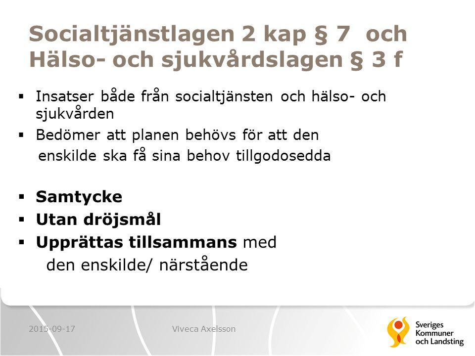 Vinjetter  Läs vinjett!  Prata med grannen om det finns behov av en SIP 2015-09-17Viveca Axelsson