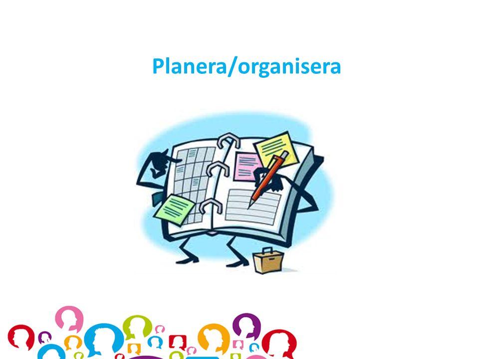 Planera/organisera