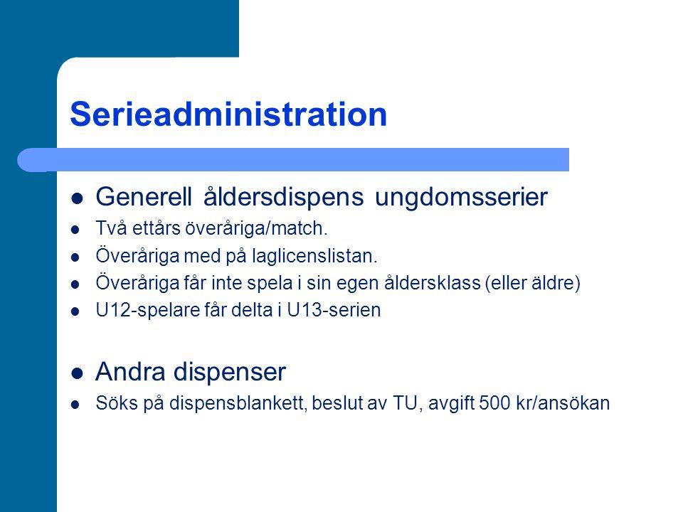Serieadministration Spelprogrammet, det officiella på www.westrabasket.se gäller alltid.