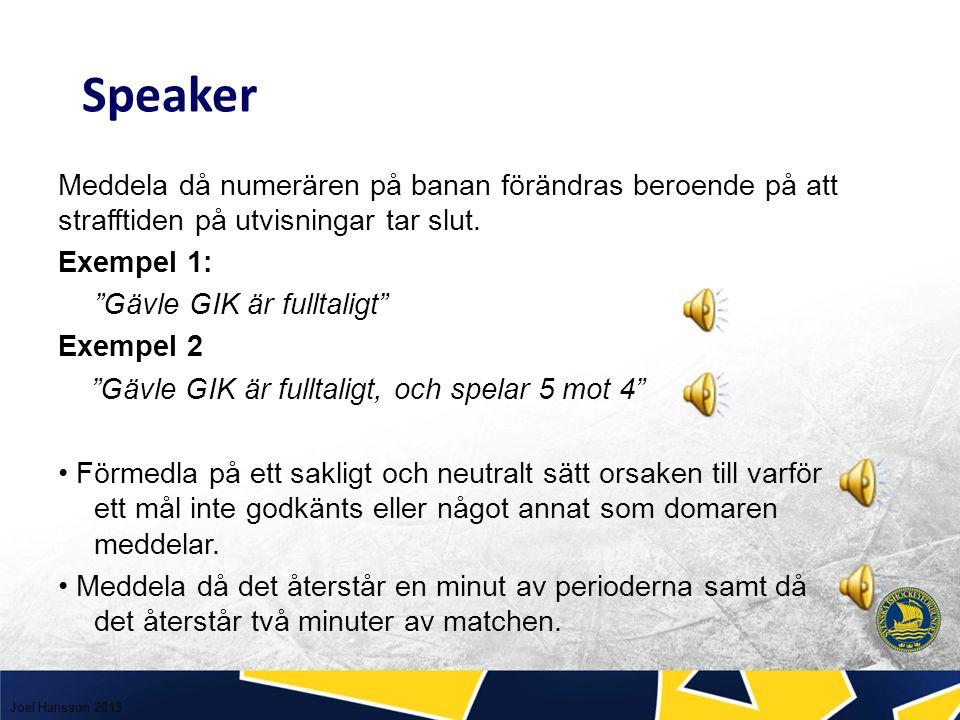 Exempel 1: Nybro IF tar ledningen med 1-0.Målskytt utan assistans nummer 24 Peter Eriksson.