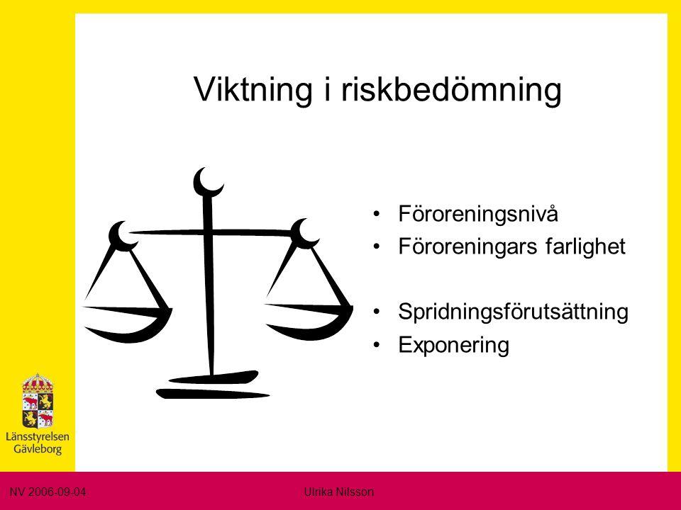 NV 2006-09-04Ulrika Nilsson Automatiskt stor risk.