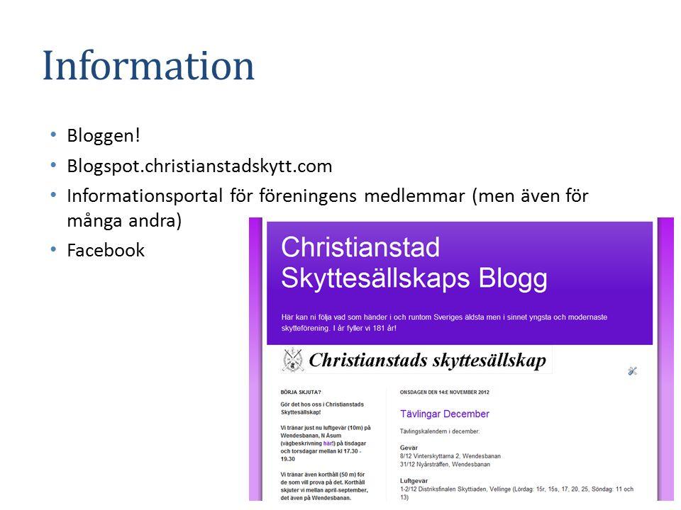 Information Bloggen.