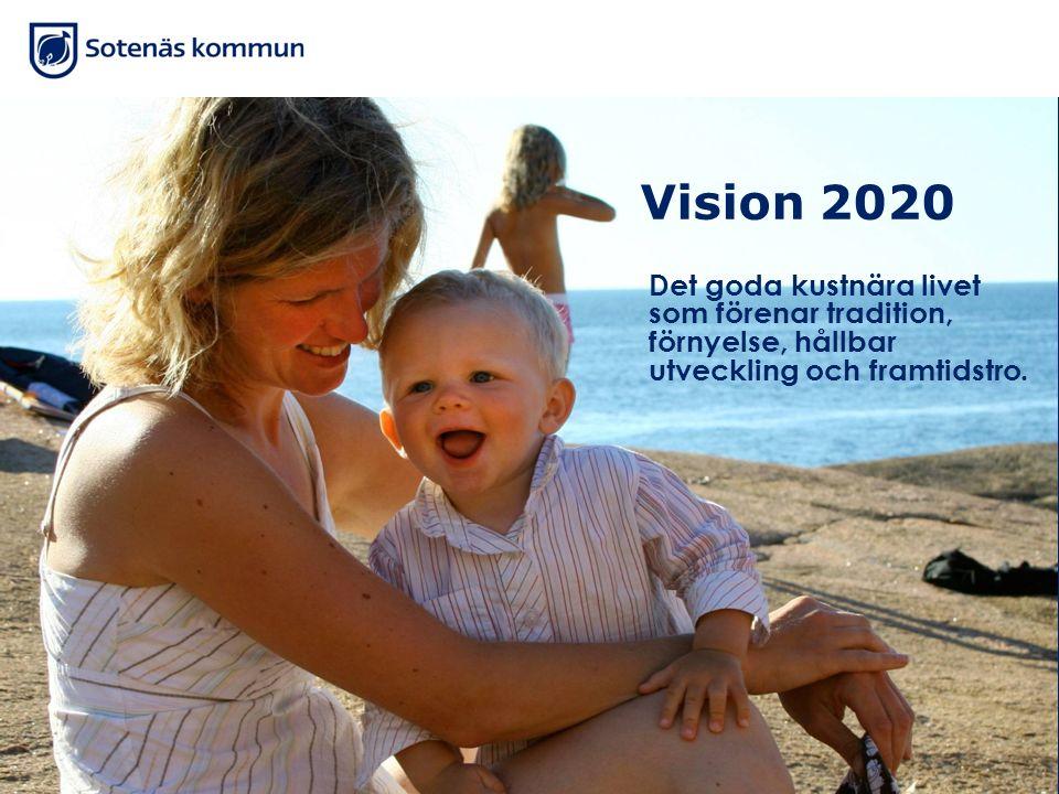 Vision 2020 Det goda kustnära livet som förenar tradition, förnyelse, hållbar utveckling och framtidstro.