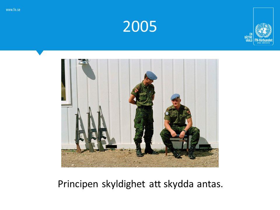 2005 Principen skyldighet att skydda antas.
