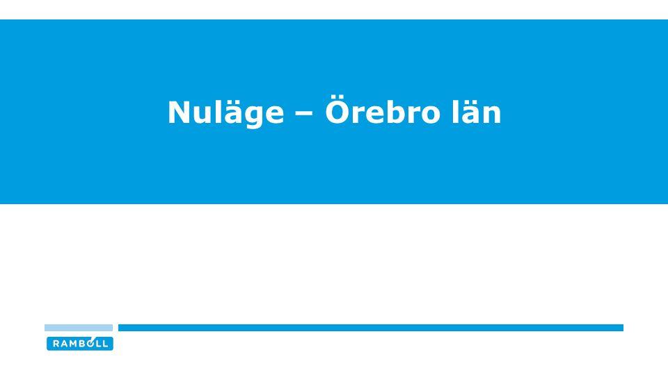 Nuläge – Örebro län
