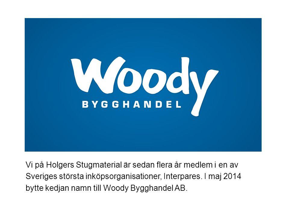Vi på Holgers Stugmaterial är sedan flera år medlem i en av Sveriges största inköpsorganisationer, Interpares.