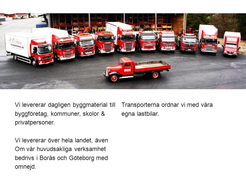 För oss på Holgers Stugmaterial är det viktigt att värna om miljön.