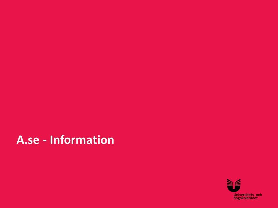 Sv A.se - Information